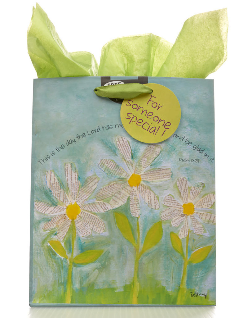 White Daisies: This Is the Day That the Lord Has Made Gift Bag
