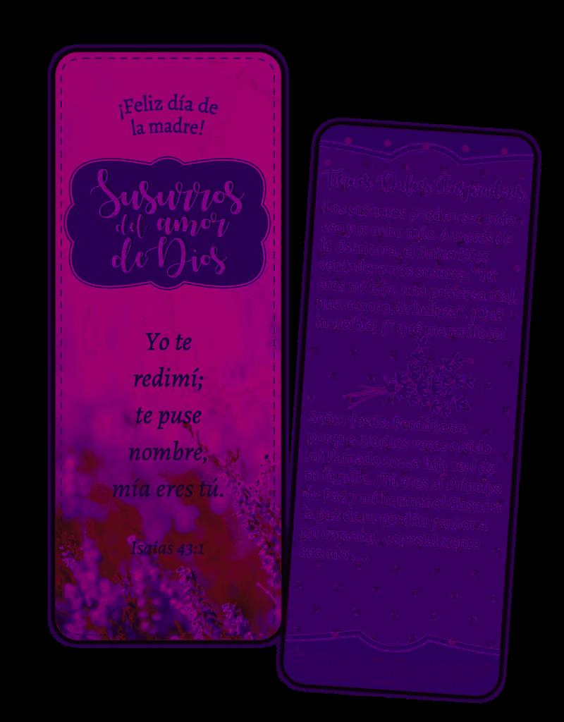 Whispers of God's Love Jumbo Bookmark Mother Spanish