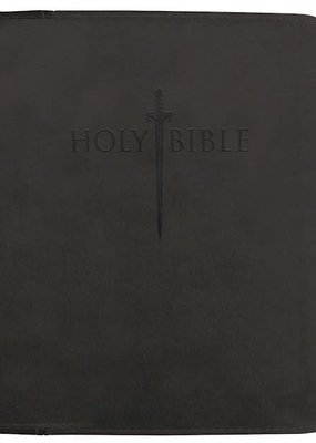 Whitaker House KJVER Thinline Bible/Large Print-Black Ultrasoft
