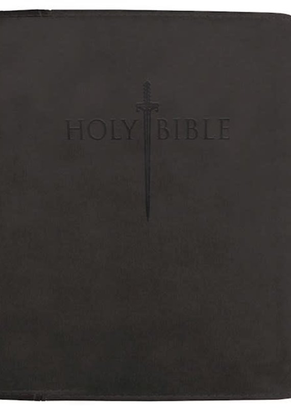 Whitaker House KJVER Thinline Bible/Large Print-Black Ultrasoft