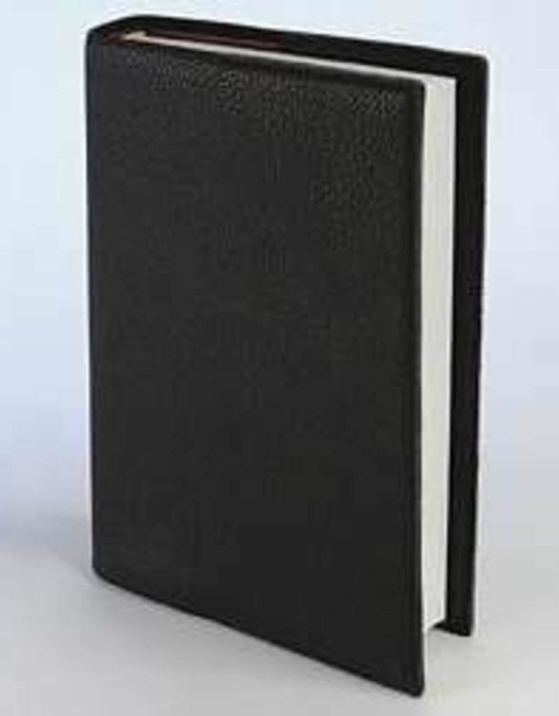 Bible Cover-Top Grain Leather-X Large-Black