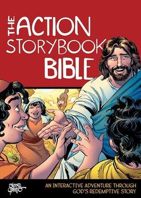 David C Cook The Action Storybook Bible