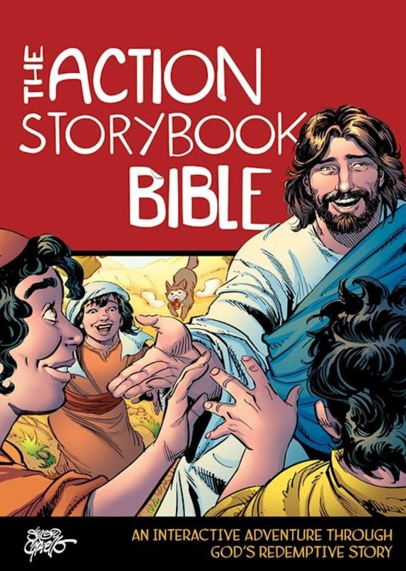 David C Cook The Action Storybook Bible