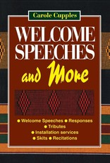 Welcome Speeches and More