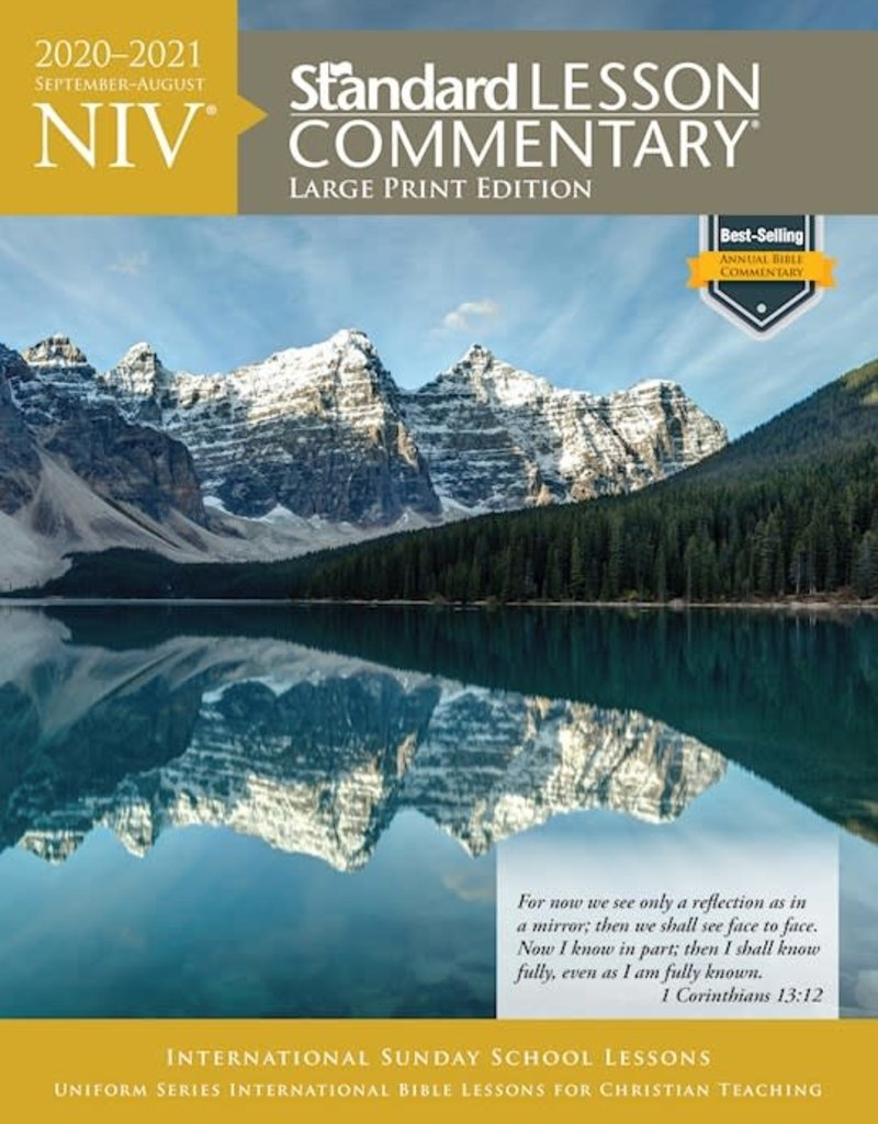 Standard Publishing NIV Standard Lesson Commentary 2020-2021-Large Print Edition