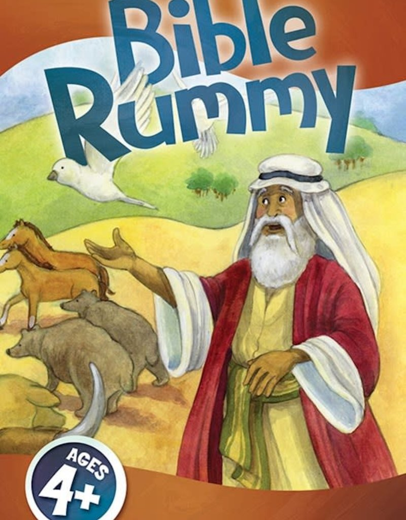 Game-Bible Rummy Jumbo Card Game