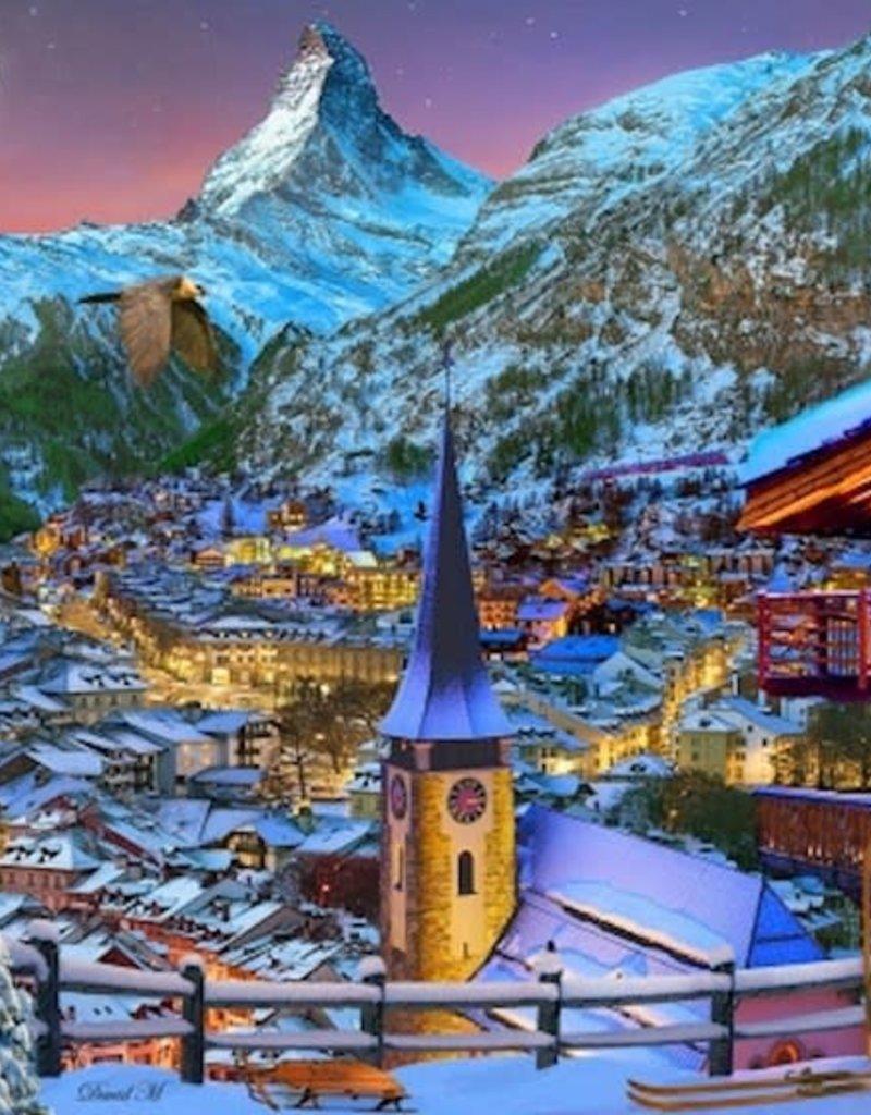 Jigsaw Puzzle-The Majestic Matterhorn (1000 Pieces)