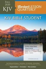 Standard Publishing Standard Lesson Quarterly | KJV Bible Student | Fall 2020