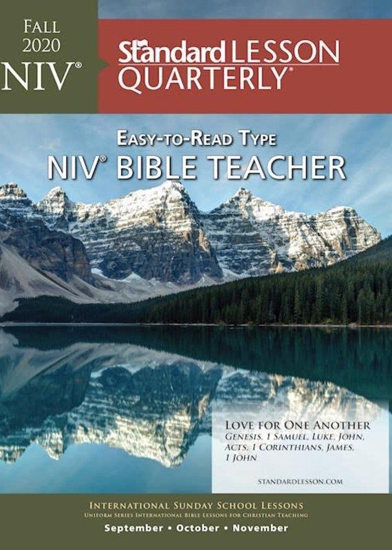 Standard Publishing Standard Lesson Quarterly | NIV® Bible Teacher | Fall 2020
