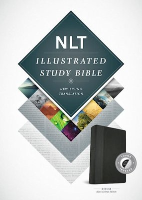 Tyndale NLT Illustrated Study Bible-Black-Onyx TuTone Indexed