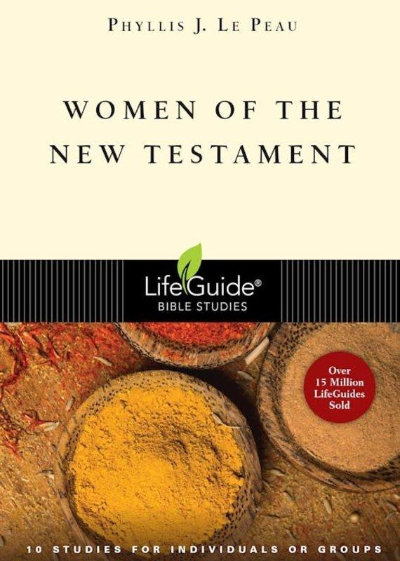 InterVarsity Press Women Of The New Testament (LifeGuide Bible Study)