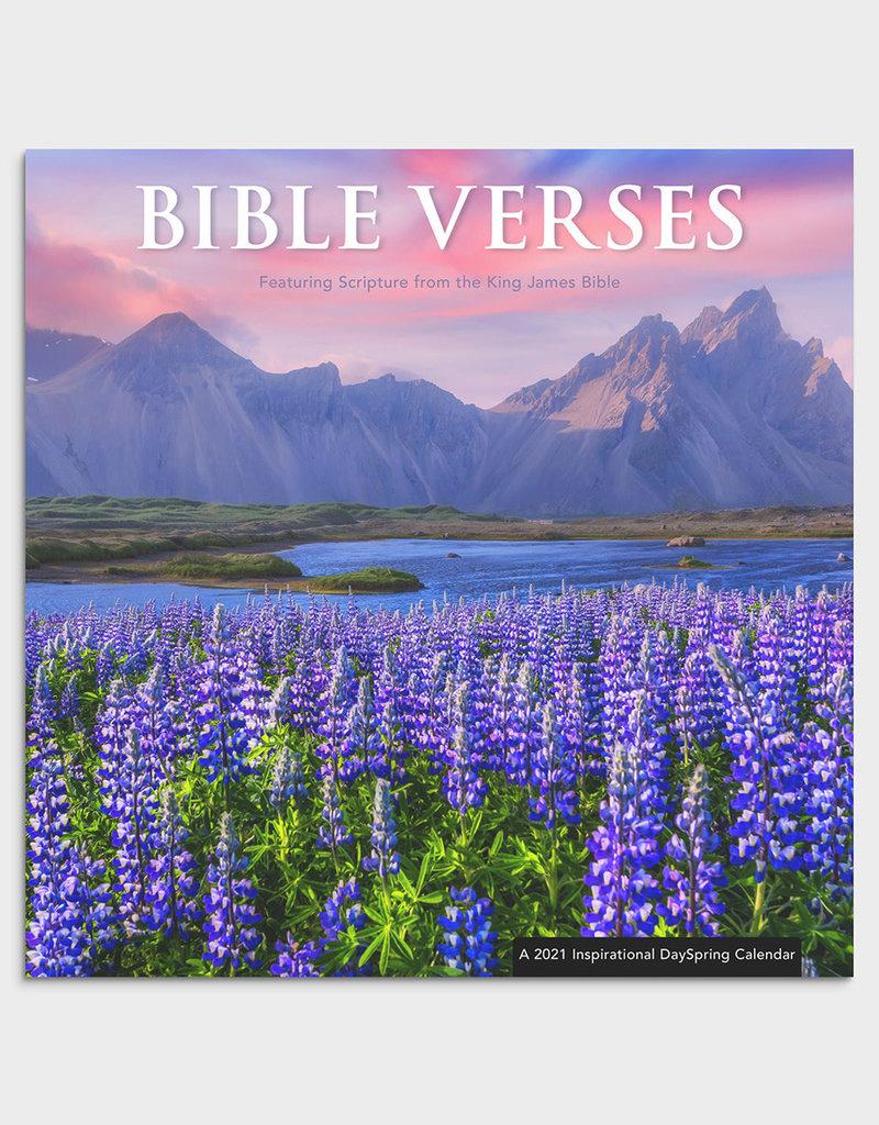 Bible Verses - KJV - 2021 Wall Calendar