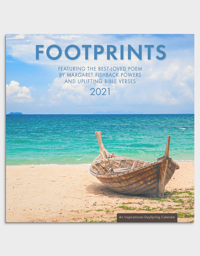 Footprints Wall Calendar