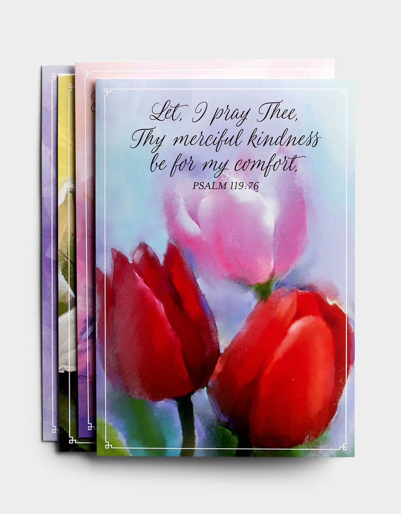 Sympathy Flowers Boxed Cards