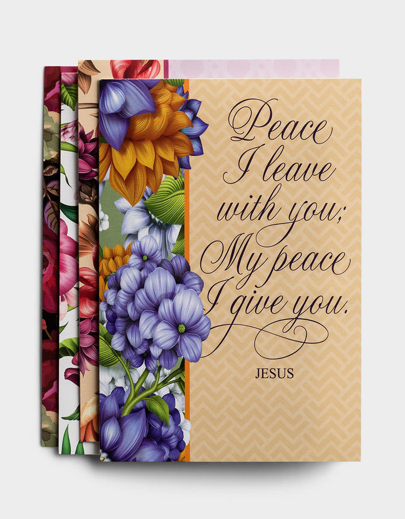 Sympathy - Peace I Leave With You - 12 Boxed Cards - KJV