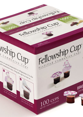 B & H Publishing Communion-Fellowship Cup Prefilled Juice/Wafer (Box Of 100)