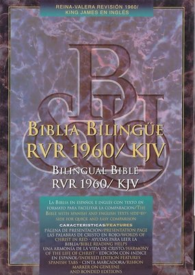 Span-RVR 1960 - KJV Bilingual-Black Imitation Leather
