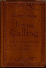 Jesus Calling (Deluxe Edition)-Brown LeatherSoft