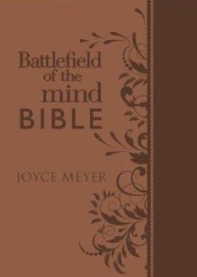 Faith Words Amplified Battlefield of the MInd Bible  Brown Joyce Meyer