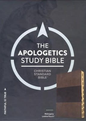 CSB Apologetics Study Bible - Mahogany LeatherTouch Indexed