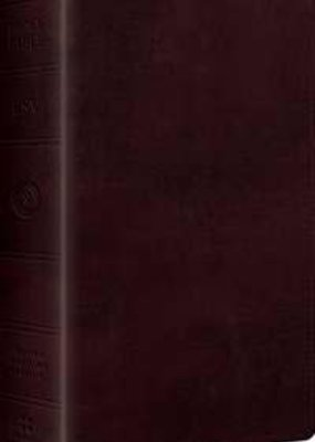 ESV Large Print Personal Size Bible-Mahogany TruTone