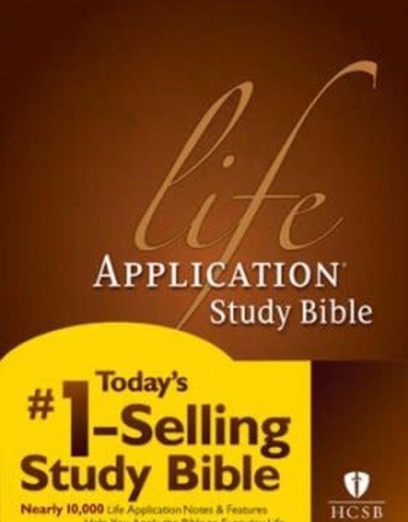 Tyndale HCSB Life Application Bible