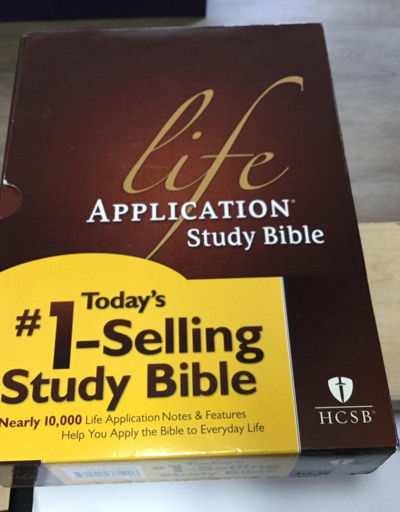 Tyndale HCSB Life Application Bible