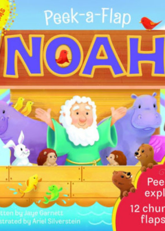 Cottage Door Press Peek-A-Flap: Noah