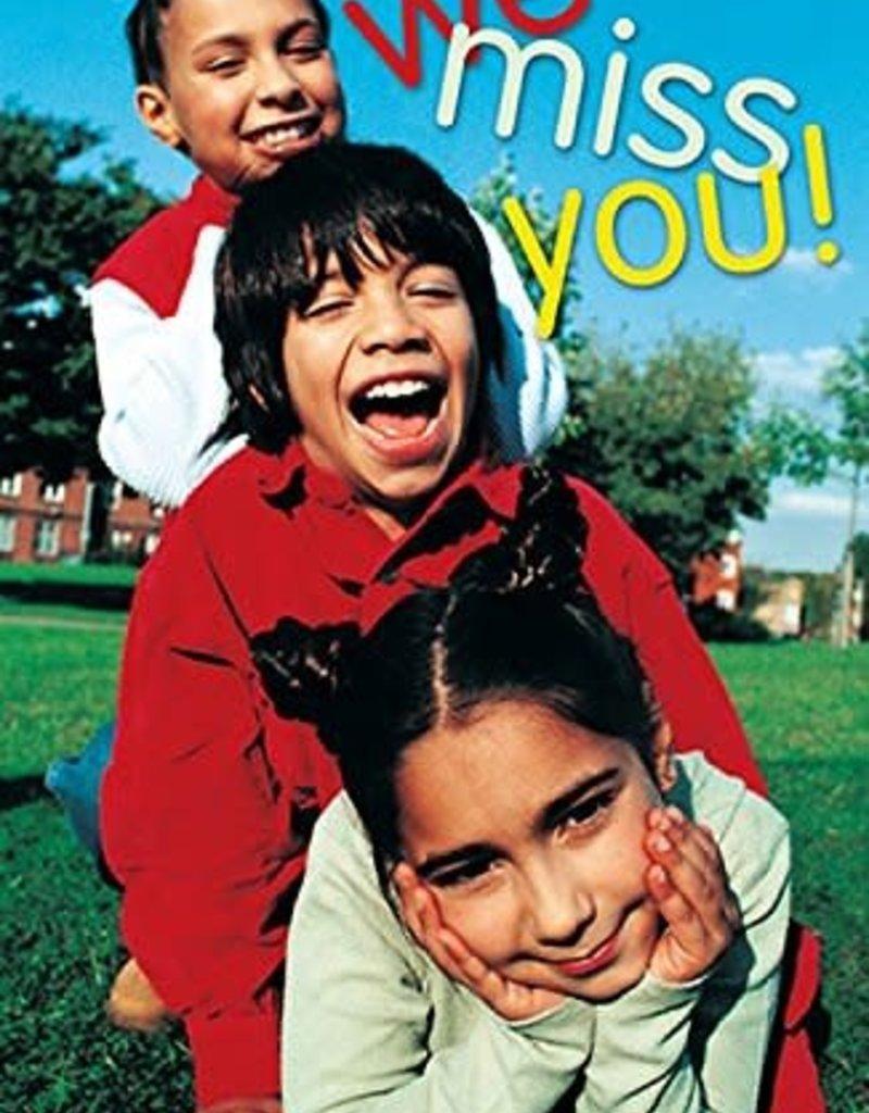 Abingdon Press We Miss You Postcards set 25