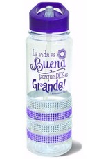 Divinity Boutique Water Bottle : Gem Purple-Spanish