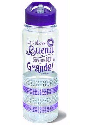 Divinity Boutique Water Bottle : Gem Purple-Spanish