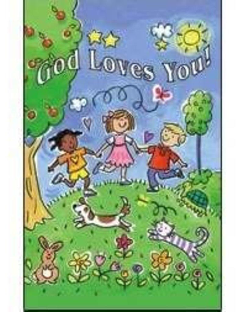 Warner Press Warner Press 31514 Postcard-All Occ-God Loves You