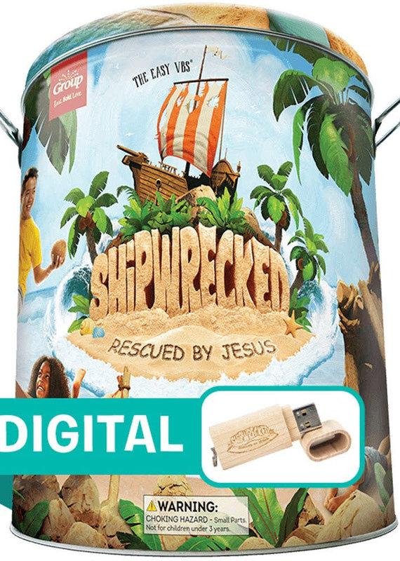Group Publishing VBS Shipwrecked Ultimate Starter Kit Plus Digital