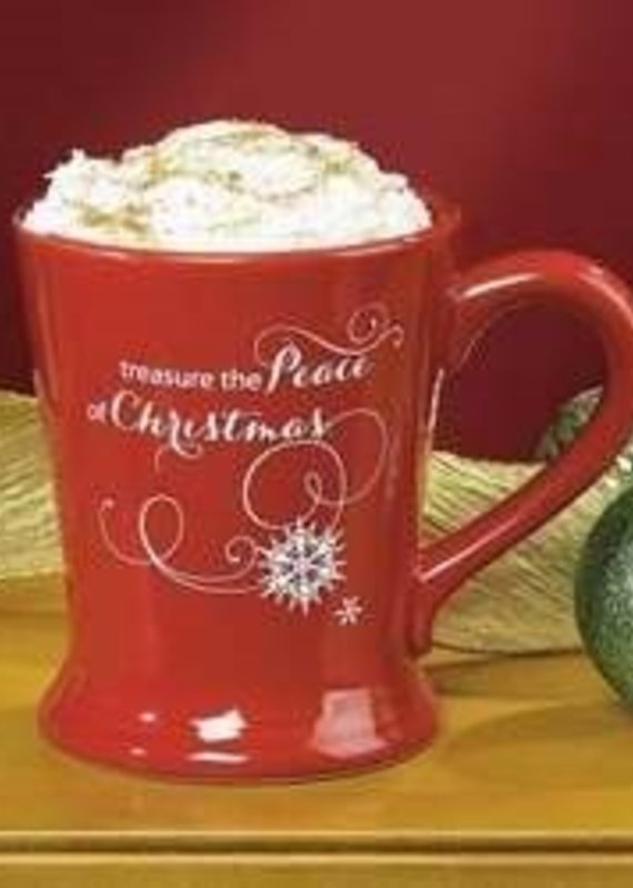 Treasure The Peace Of Christmas