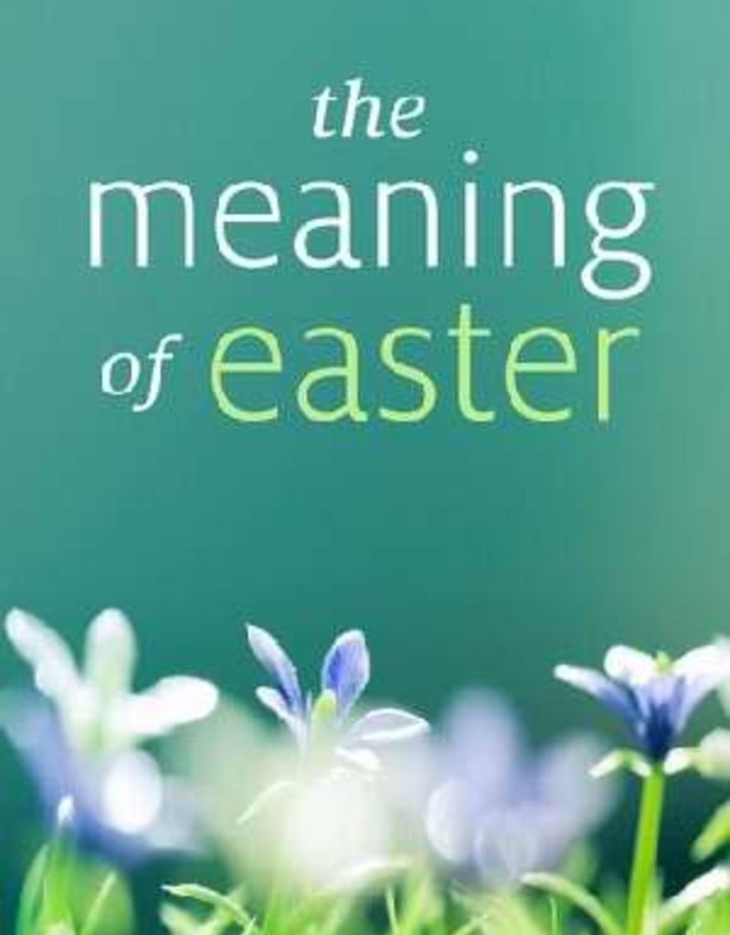 Tract-The Meaning Of Easter (KJV) Single