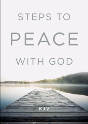 Tract-Steps To Peace With God (KJV) (Pack Of 25)