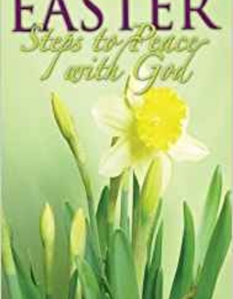 Tract Easter Steps to Peace