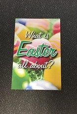 Tract - What Is Easter All About? - Single