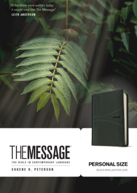 Tyndale The Message Personal Size Bible Numbered Edition