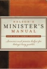 Nelson's Minister's Manual (NKJV Edition)-Brown/Tan Imitation Leather