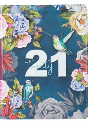 Daily Planner 2021 Birds and Botany
