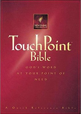 Tyndale Touchpoint Bible NLT sc