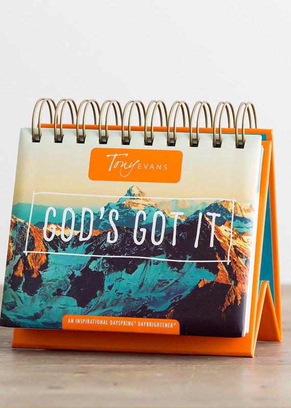 Tony Evans - God's Got It - 365 Day Perpetual Calendar