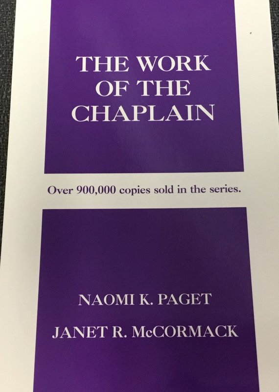 Judson Press The Work of the Chaplain