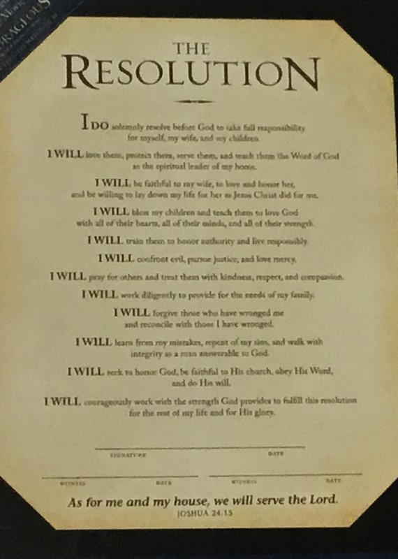 The Resolution print
