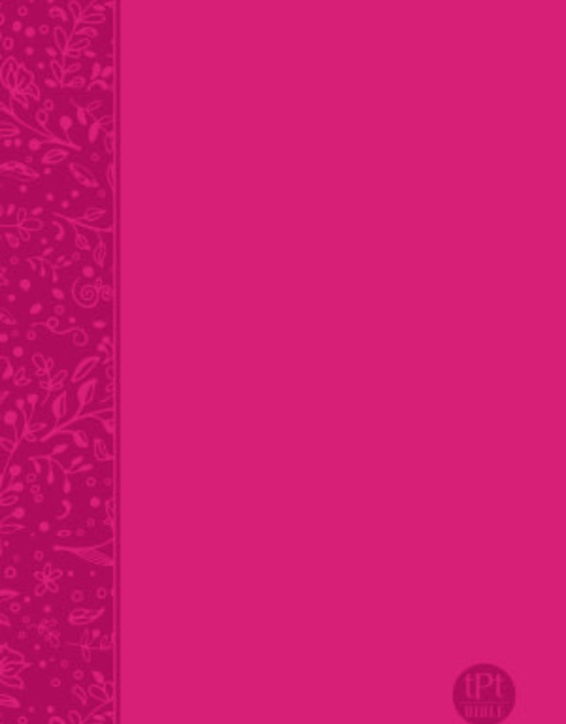 The Passion Translation New Testament With Psalms, Proverbs & Song Of Songs-Pink Imitation Leather