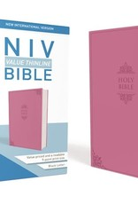 Zondervan NIV Value Thinline Bible (Comfort Print)-Pink Leathersoft