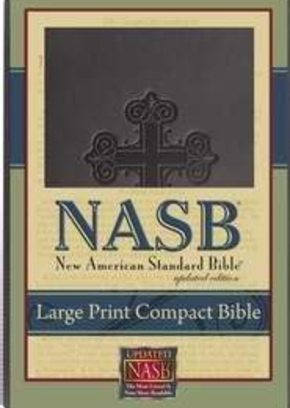 Foundation Publication NASB Large Print Compact Bible
