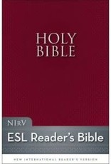 Zondervan NIrV Holy Bible ESL Burgundy
