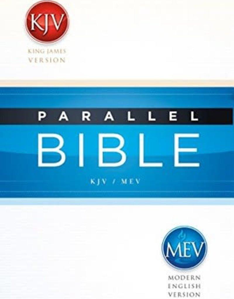 Passio KJV MEV Parallel Bible Hardcover